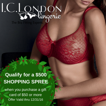 CHANCE TO WIN A $500 SHOPPING